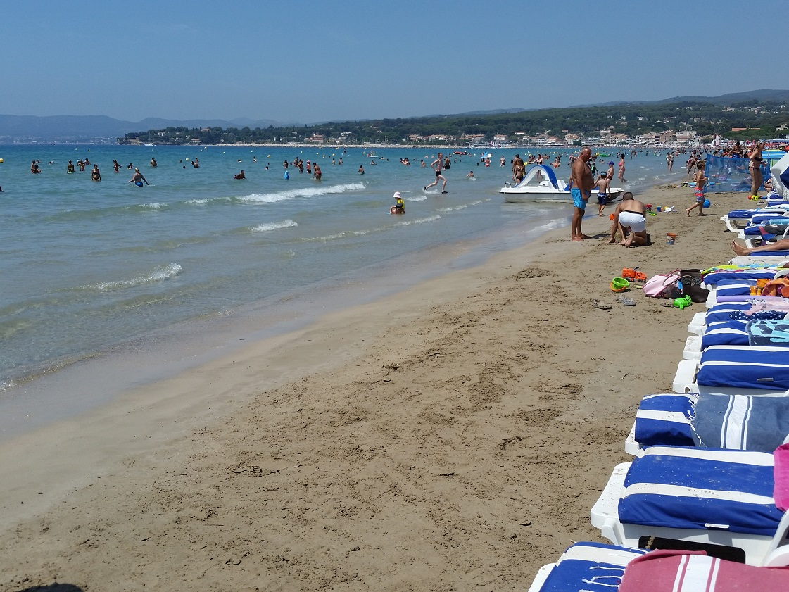 photo de la plage de Saint Cyr sur Mer
